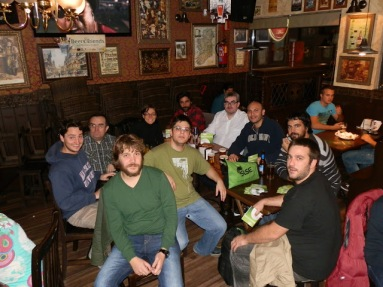 openSUSE Release Party 12.2 @ Madrid , Group photo